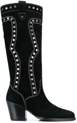 Coach Payton Western boots