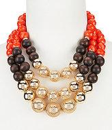 Anna & Ava Jill Mixed-Media Multi-Strand Necklace