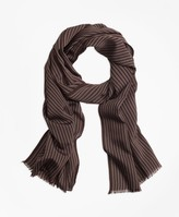 Brooks Brothers Double-Pinstripe Scarf