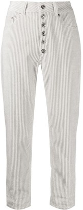 Dondup Straight-Leg Cropped Trousers
