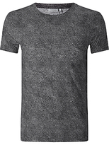 J. Lindeberg Sev Print Crew Neck T-shirt, Black