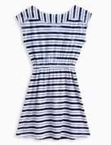 Splendid Girl Indigo Tie Dye Stripe Dress
