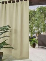 JCPenney Josie Accessories Matine Tab-Top Indoor/Outdoor Curtain Panel
