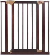 Baby Trend Tall Pressure Fit Wood and Metal Gate, Espresso by