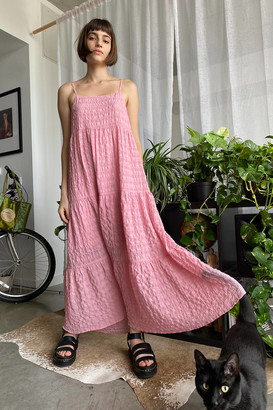 Urban Outfitters Paolo Tiered Ruffle Maxi Dress