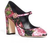 Dolce & Gabbana Women's Block Heel Mary Jane