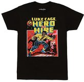Mighty Fine Luke Cage Comic Book Cover Adult T-shirt