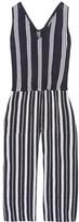 Lemlem Edna Striped Cotton-gauze Jumpsuit - Navy