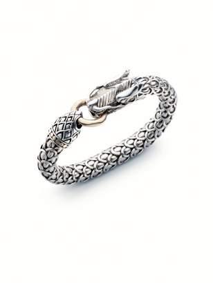 John Hardy Sterling Silver & 18K Yellow Gold Bracelet