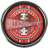 Memory Company Tampa Bay Buccaneers Chrome Clock