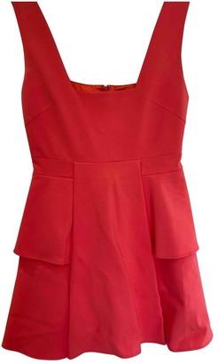 Aq/Aq Aqaq Pink Cotton Dress for Women