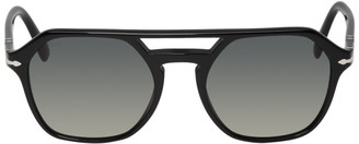 Persol Black and Grey PO3206S Sunglasses