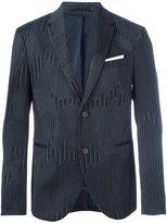 Neil Barrett line detail suit jacket