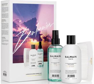 Balmain Paris Hair Couture Balmain Limited Edition Luminous Blonde Summer Set