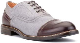 Vintage Foundry Men's Denzel Denim & leather Oxfords