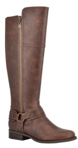 Gbg Los Angeles Women's Harlea Wide-Calf Tall Riding Boots Women's Shoes