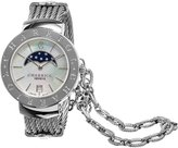 Charriol Women's 'St Tropez' Swiss Quartz Stainless Steel Dress Watch (Model: ST35CS560001)