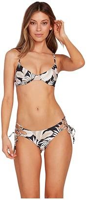 Volcom Lip Palm Tie Side (Black) Women's Swimwear