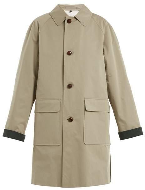 Burberry - Unisex Padded Cotton Trench Coat - Womens - Khaki