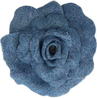 Philosophy di Lorenzo Serafini Denim Flower Brooch