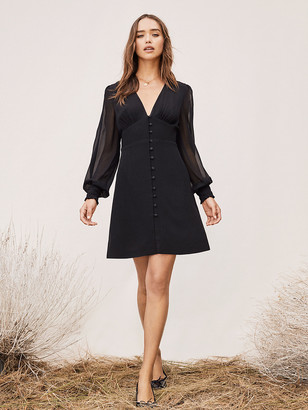 Diane von Furstenberg TVF Rosemary Crepe Mini Dress