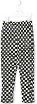Bobo Choses checkered trousers - kids - Cotton/Spandex/Elastane - 9 yrs