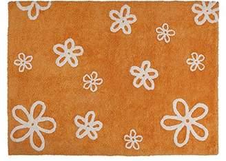 Lorena Canals Flores Washable Rug (Orange)