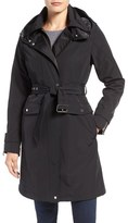 Vince Camuto Hooded Trench Coat