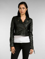 Miss Me Leather Motorcycle Jacket