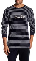 Barney Cools Cools Graphic Rope Logo Relaxed Fit Long Sleeve Shirt