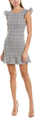 Rosewater Remi Ruffle Mini Dress