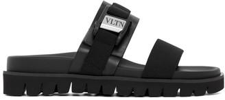Valentino Black Garavani VLTN Slides