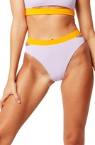 L-Space L Space Zac Colorblock High Waist Bikini Bottoms