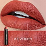 SHERUI Cosmetics Professional Selected MATTE Lip Color Lipstick Liner #10