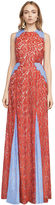BCBGMAXAZRIA Marilyn Floral Lace Gown
