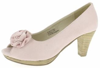 Andrea Conti Women's 733109 Open Toe Heels