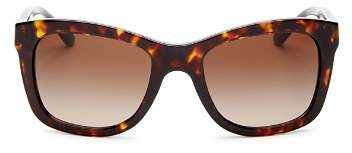 Tory Burch Women's Square Sunglasses, 52mm
