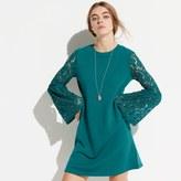 k / lab k/lab Lace Sleeve Sweatshirt Dress