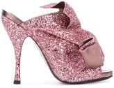 No.21 glitter effect sandals - women - Leather/PVC - 36