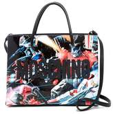 Moschino x Transformers Leather Dragon Tote