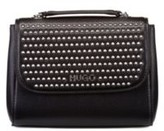 HUGO BOSS - Mini bag in faux leather with stud detailing - Black