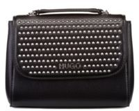 HUGO BOSS Mini Bag In Faux Leather With Stud Detailing - Black