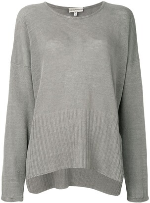 Giorgio Armani Pre-Owned Loose Fit Slit Jumper