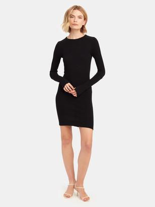 Enza Costa Cashmere Thermal Cuff Mini Dress