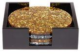 Edie Parker Round Glitter Coasters/Set of 4