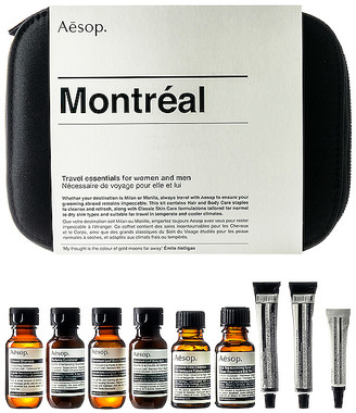 Aesop Montreal Kit.