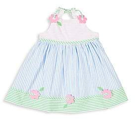 Florence Eiseman Little Girl's Multi Pastel Seersucker Dress