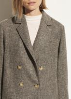 Pebble Texture Wool Jacket