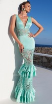 Tarik Ediz Rio Evening Dress