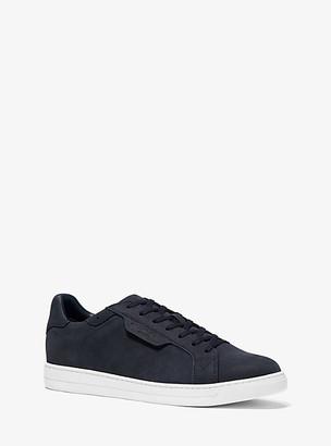 Michael Kors Keating Nubuck Sneaker - Dark Indigo